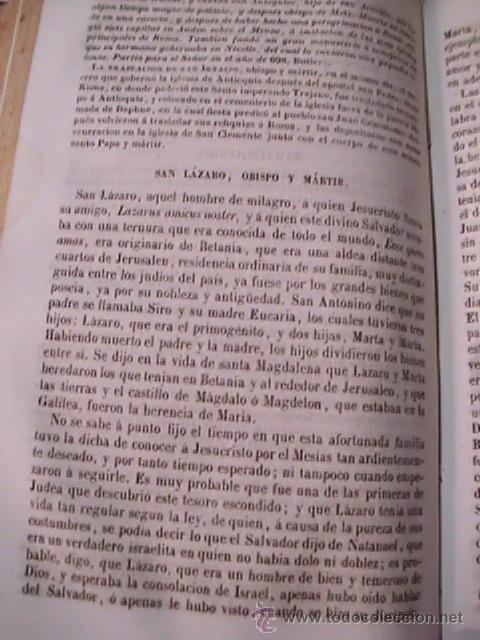 Libros antiguos: EL AÑO CRISTIANO - EJERCICIOS DEVOTOS PARA TODOS LOS DÍAS DEL AÑO - DE JUAN CROISSET - 1853 - Foto 4 - 51129413