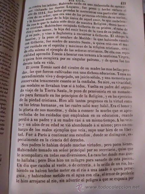 Libros antiguos: EL AÑO CRISTIANO - EJERCICIOS DEVOTOS PARA TODOS LOS DÍAS DEL AÑO - DE JUAN CROISSET - 1853 - Foto 6 - 51129413