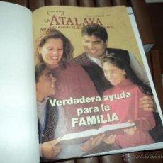 Libros antiguos: REVISTAS ATALAYA Y DESPERTAD ENCUADERNADAS. Lote 210622067
