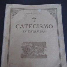 Libros antiguos: CATECISMO EN ESTAMPAS. EDITORIAL DIFUSION BUENOS AIRES. AÑOS 30. Lote 51252502