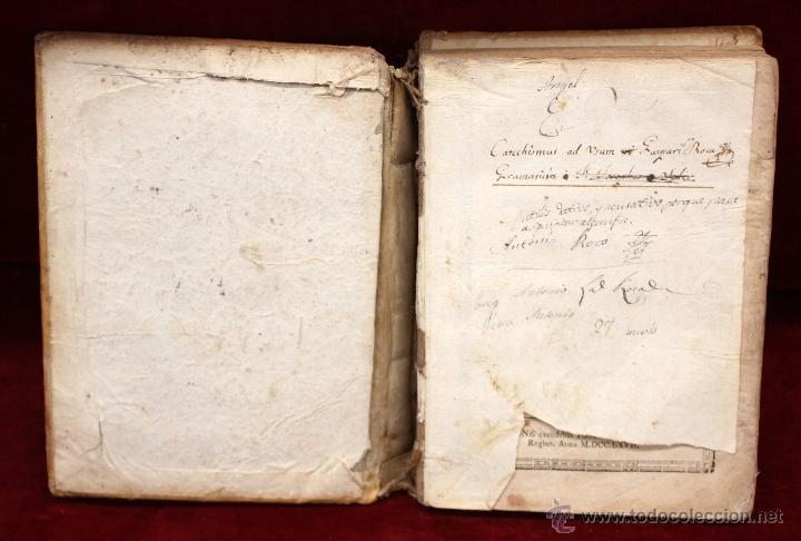 Libros antiguos: LOTE DE 6 LIBROS ANTIGUOS DEL SIGLO XVIII, 5 DE ELLOS EN PERGAMINO - Foto 5 - 55354501