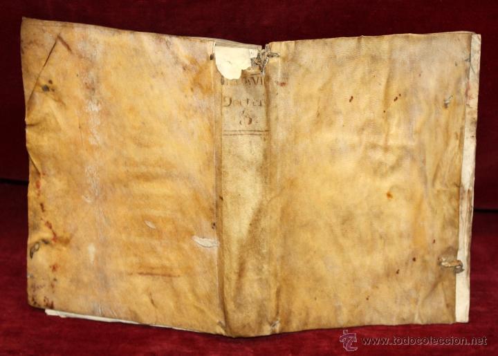 Libros antiguos: LOTE DE 6 LIBROS ANTIGUOS DEL SIGLO XVIII, 5 DE ELLOS EN PERGAMINO - Foto 8 - 55354501