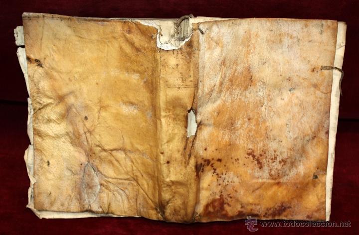 Libros antiguos: LOTE DE 6 LIBROS ANTIGUOS DEL SIGLO XVIII, 5 DE ELLOS EN PERGAMINO - Foto 11 - 55354501