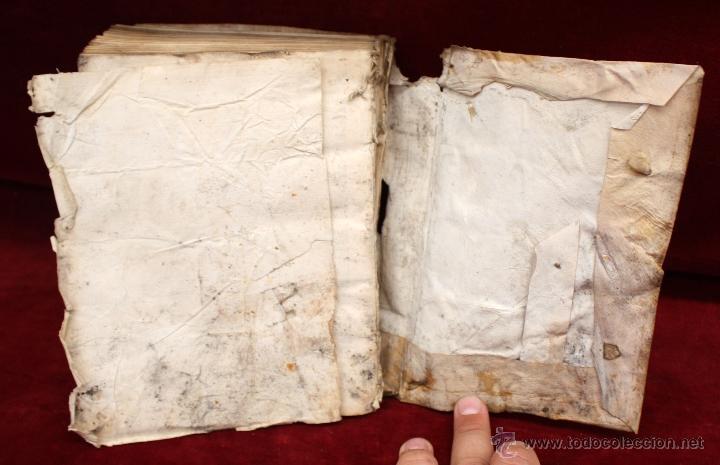 Libros antiguos: LOTE DE 6 LIBROS ANTIGUOS DEL SIGLO XVIII, 5 DE ELLOS EN PERGAMINO - Foto 14 - 55354501