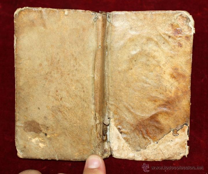 Libros antiguos: LOTE DE 6 LIBROS ANTIGUOS DEL SIGLO XVIII, 5 DE ELLOS EN PERGAMINO - Foto 18 - 55354501
