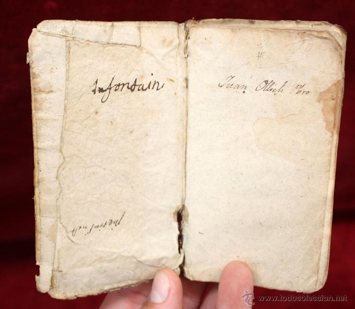 Libros antiguos: LOTE DE 6 LIBROS ANTIGUOS DEL SIGLO XVIII, 5 DE ELLOS EN PERGAMINO - Foto 19 - 55354501
