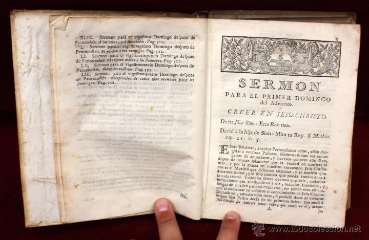 Libros antiguos: LA VOZ DEL PASTOR DISCURSOS FAMILIARES DEL SEÑOR REGUIS CURA DE AUXERRE DE 1773 - Foto 2 - 51286605