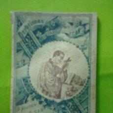 Libros antiguos: DEVOCIONES ESCOGIDAS NOVENA DE SAN LUIS GONZAGA CALLEJA 1898. Lote 51440698