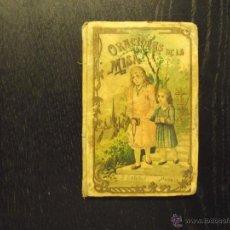 Libros antiguos: ORACIONES DE LA MISA, CALLEJA, 1899. Lote 51441834