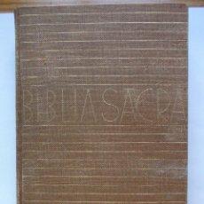 Libros antiguos: BIBLIA SACRA . 1929.. Lote 51506968