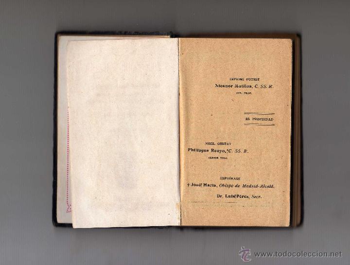 Libros antiguos: DEVOCIONARIO POPULAR RECUERDO DEL MISIONERO, MADRID 1924 - Foto 2 - 51521805