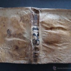Libros antiguos: 'CEREMONIAL ROMANO DE LA MISSA REZADA' FRUTOS BARTOLOME DE OLALLA Y ARAGON. 1707. PERGAMINO. Lote 51614569