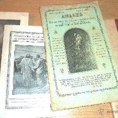 Libros antiguos: LOTE 4 LIBRO SAGRADO CORAZON DE JESUS ANALES 1885 . COMENTARIOS 1936 SAENZ DE TEJADA MES 1942 . Lote 51634301