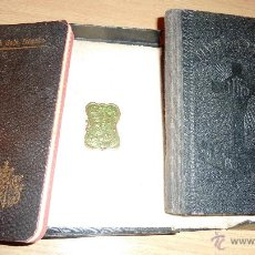 Libros antiguos: LOTE 2 MANNA DEL CRISTIA CATALAN 1905 L'AMICH DELS INFANTS SANT FELIP NERI 1907 EN CAJA . Lote 51634651