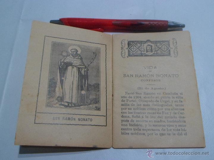 Libros antiguos: Vida de San Ramón Nonato ~ Coleccion Flores Celestes ~ Editorial: Saturnino Calleja - Foto 4 - 52126349