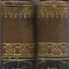 Old books - LOS MÁRTIRES. EL TRIUNFO DE LA RELIGIÓN CRISTIANA. CHATEAUBRIAND. IMP.MAYOL.2 TOMOS.BARCELONA.1842 - 52400801