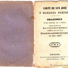 Libros antiguos: CORTE DE SAN JOSÉ Y SAGRADA FAMILIA 1886. Lote 52405331
