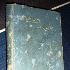 Libros antiguos: PEQUEÑO LIBRO PETIT MOIS DE MARIE MES DE MARIA . GENTELLES 1893 . Lote 52563019