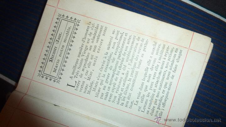 Libros antiguos: pequeño libro petit mois de marie mes de maria . gentelles 1893 - Foto 4 - 52563019