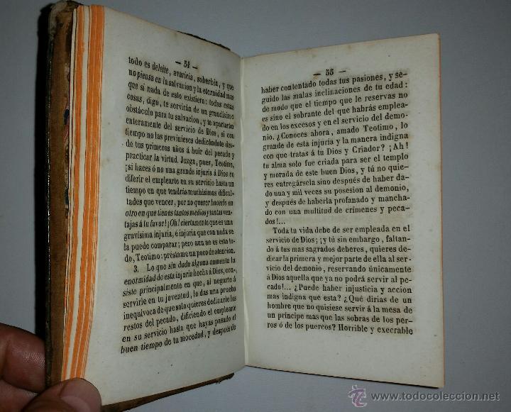 Libros antiguos: INSTRUCCION DE LA JUVENTUD EN LA PIEDAD CRISTIANA - Imprenta de Pablo Riera - 1850 - Foto 5 - 52850647