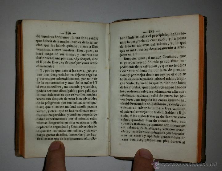 Libros antiguos: INSTRUCCION DE LA JUVENTUD EN LA PIEDAD CRISTIANA - Imprenta de Pablo Riera - 1850 - Foto 6 - 52850647