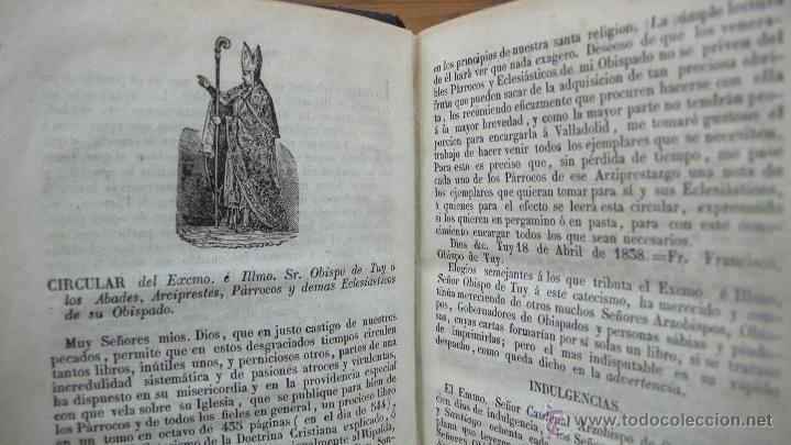 Libros antiguos: EL CATECISMO DE LA DOCTRINA CRISTIANA EXPLICADO...D. SANTIAGO JOSE GARCIA MAZO. 1847. - Foto 2 - 52862549