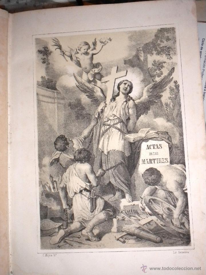 Libros antiguos: actas de los martires del cristianismo / Teodorico Ruinart. Antonio Galonio / 1864 - Foto 7 - 52960285