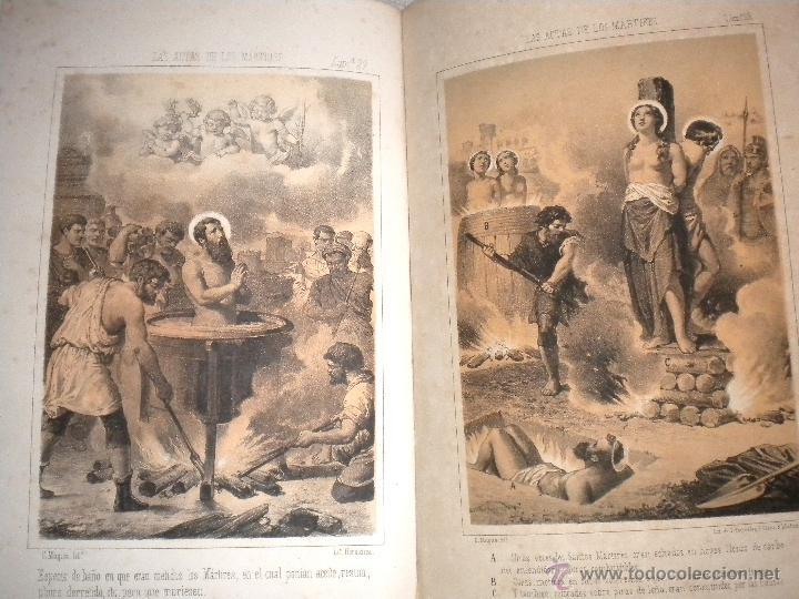 Libros antiguos: actas de los martires del cristianismo / Teodorico Ruinart. Antonio Galonio / 1864 - Foto 12 - 52960285