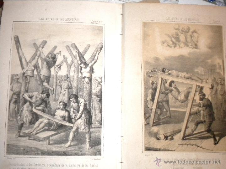 Libros antiguos: actas de los martires del cristianismo / Teodorico Ruinart. Antonio Galonio / 1864 - Foto 13 - 52960285