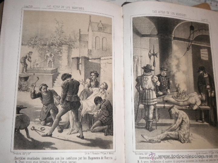 Libros antiguos: actas de los martires del cristianismo / Teodorico Ruinart. Antonio Galonio / 1864 - Foto 15 - 52960285