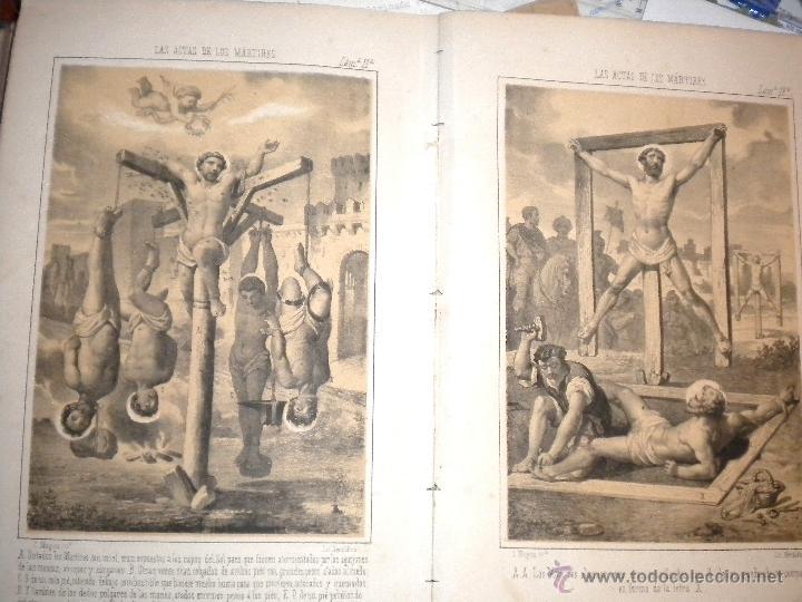 Libros antiguos: actas de los martires del cristianismo / Teodorico Ruinart. Antonio Galonio / 1864 - Foto 21 - 52960285