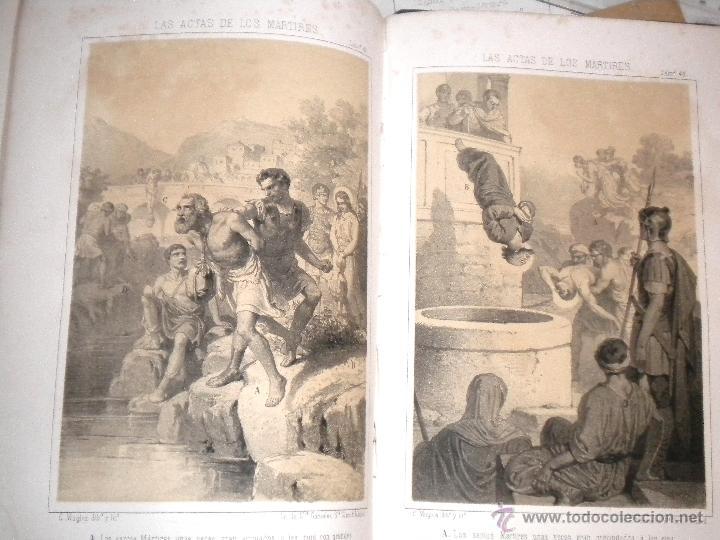 Libros antiguos: actas de los martires del cristianismo / Teodorico Ruinart. Antonio Galonio / 1864 - Foto 26 - 52960285
