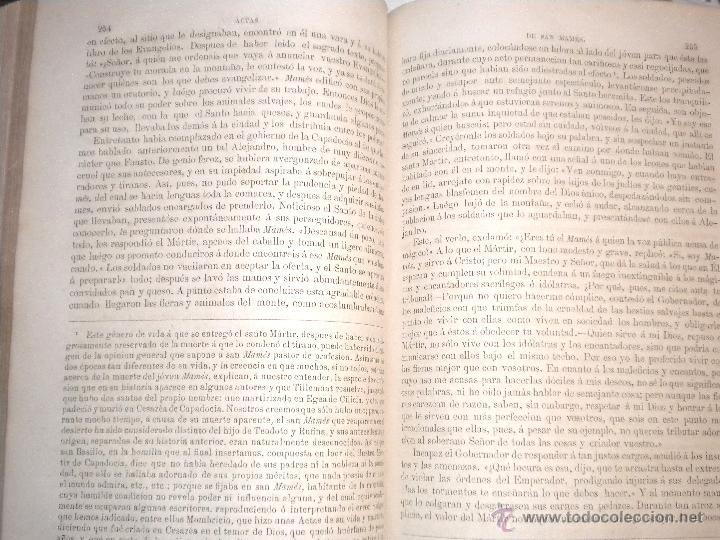 Libros antiguos: actas de los martires del cristianismo / Teodorico Ruinart. Antonio Galonio / 1864 - Foto 27 - 52960285
