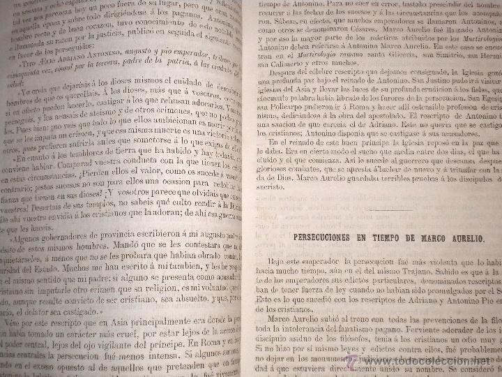 Libros antiguos: actas de los martires del cristianismo / Teodorico Ruinart. Antonio Galonio / 1864 - Foto 34 - 52960285