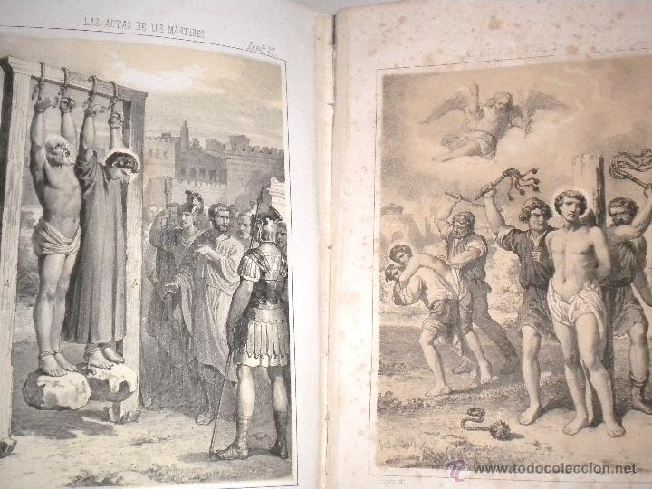 Libros antiguos: actas de los martires del cristianismo / Teodorico Ruinart. Antonio Galonio / 1864 - Foto 39 - 52960285
