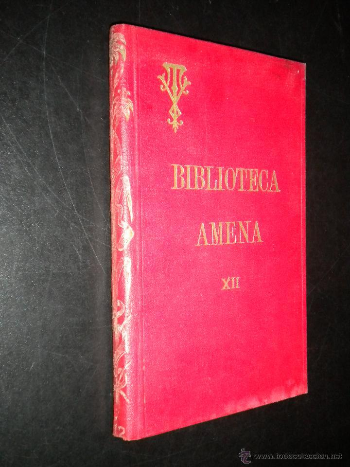 BIBLIOTECA AMENA XII / COMEDIA HUMANA, LOS PERDONES, SOCIEDAD CRISTIANA / VICTOR VAN TRICHT / 1922 (Libros Antiguos, Raros y Curiosos - Religión)