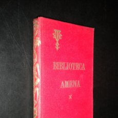 Libros antiguos: BIBLIOTECA AMENA X. NUESTROS ANIMALES DOMÉSTICOS / VICTOR VAN TRICHT / 1924. Lote 52983201