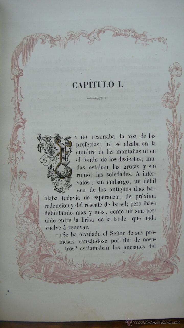 Libros antiguos: VIDA DE LA SMA. VIRGEN. M. ANA MARÍA. ILUSTRADA CON DIBUJOS AL ESTILO DE LOS ANTIGUOS MISALES. 1847. - Foto 4 - 53002533