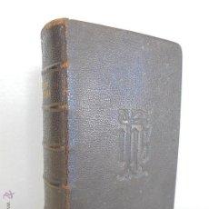 Libros antiguos: HORAE DIURNAE BREBIARII ROMANI. EDITIO TORNACENSIS SEXTA POST TYPICAM. LEFEBVRE 1896.VER FOTOGRAFIAS. Lote 53115336