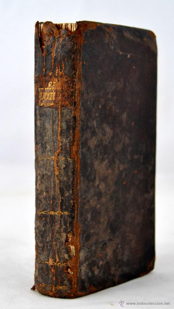 * BARCELONA AÑO 1805 - S.XIX * EXERCICIO QUOTIDIANO ... SAGRADA COMUNION * MAS DE 30 GRABADOS * (Libros Antiguos, Raros y Curiosos - Religión)