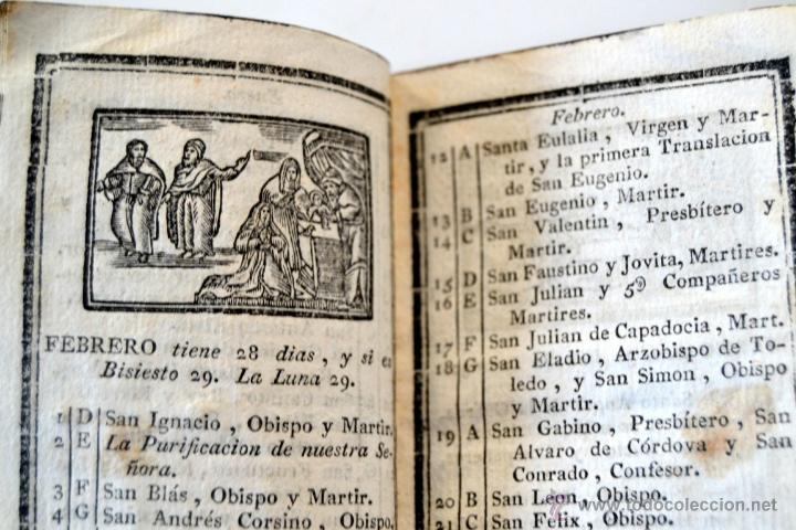 Libros antiguos: * Barcelona año 1805 - s.XIX * Exercicio Quotidiano ... Sagrada Comunion * Mas de 30 Grabados * - Foto 7 - 53259181