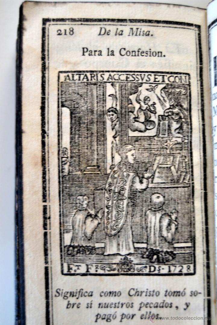 Libros antiguos: * Barcelona año 1805 - s.XIX * Exercicio Quotidiano ... Sagrada Comunion * Mas de 30 Grabados * - Foto 11 - 53259181