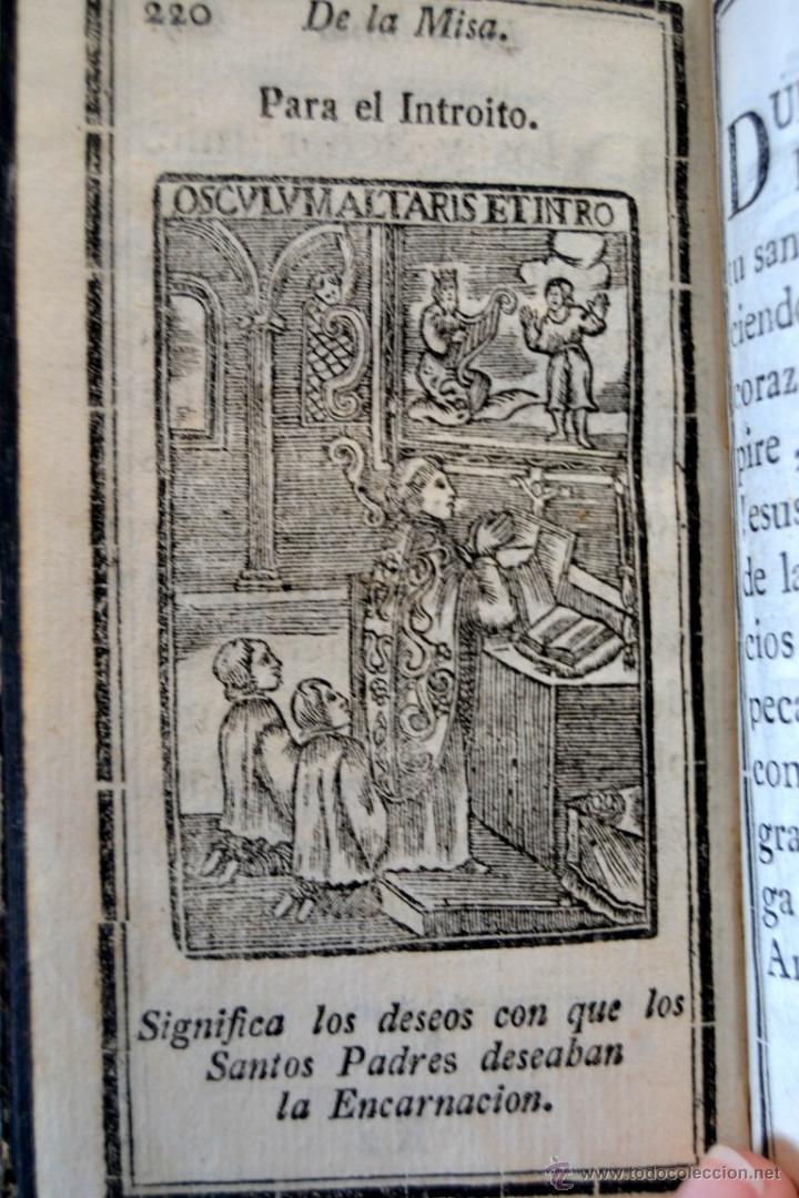 Libros antiguos: * Barcelona año 1805 - s.XIX * Exercicio Quotidiano ... Sagrada Comunion * Mas de 30 Grabados * - Foto 12 - 53259181