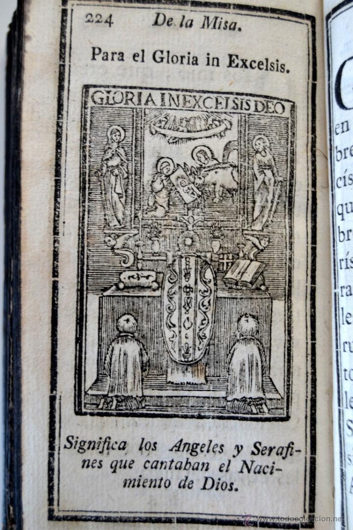 Libros antiguos: * Barcelona año 1805 - s.XIX * Exercicio Quotidiano ... Sagrada Comunion * Mas de 30 Grabados * - Foto 13 - 53259181