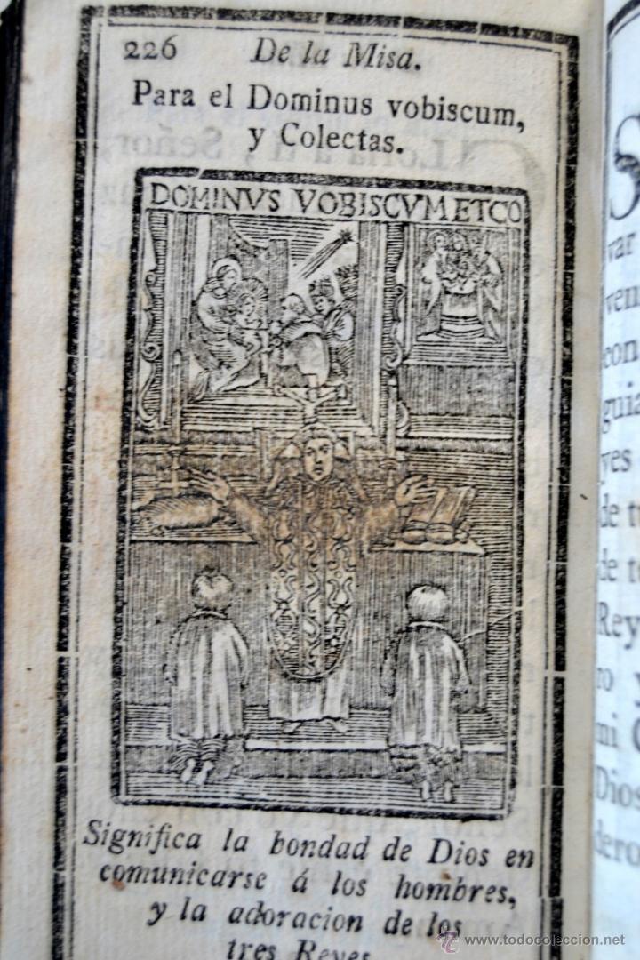 Libros antiguos: * Barcelona año 1805 - s.XIX * Exercicio Quotidiano ... Sagrada Comunion * Mas de 30 Grabados * - Foto 14 - 53259181