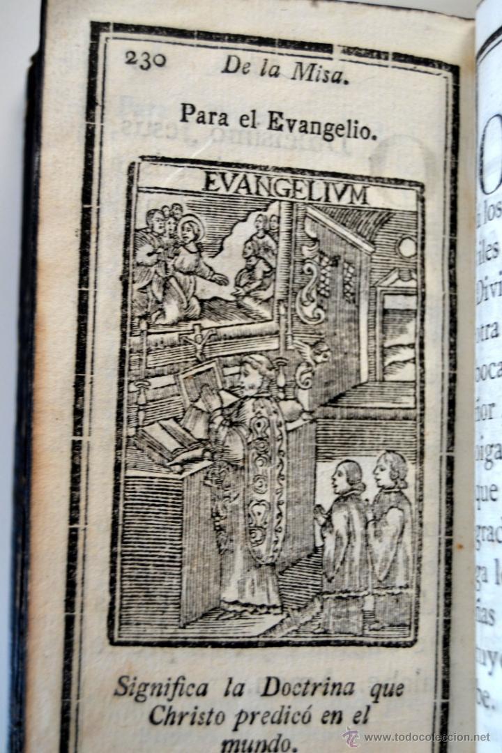 Libros antiguos: * Barcelona año 1805 - s.XIX * Exercicio Quotidiano ... Sagrada Comunion * Mas de 30 Grabados * - Foto 15 - 53259181