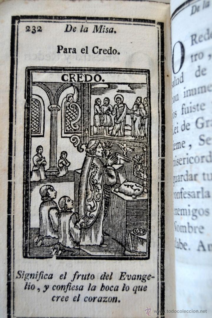 Libros antiguos: * Barcelona año 1805 - s.XIX * Exercicio Quotidiano ... Sagrada Comunion * Mas de 30 Grabados * - Foto 16 - 53259181