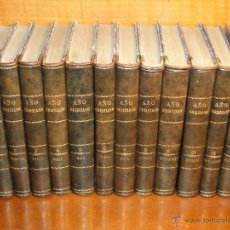 Libros antiguos: AÑO CRISTIANO, Ó EJERCICIOS DEVOTOS PARA TODOS LOS DÍAS DEL AÑO. -(12 TOMOS OBRA COMPLETA).- CROSET. Lote 53310044