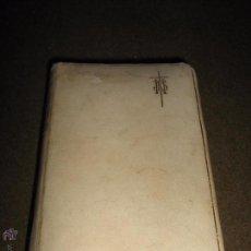 Libros antiguos: LIBRO DE PRIMERA COMUNION DEL AÑO 1919 - TESORO DIVINO - TAPAS DE PIEL CANTO DORADO. Lote 53419482