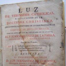 Libros antiguos: 1722 PREDICACION DE LOS JESUITAS EN LA NUEVA ESPAÑA MEXICO * FOLIO * COMPAÑIA DE JESUS. Lote 53602227